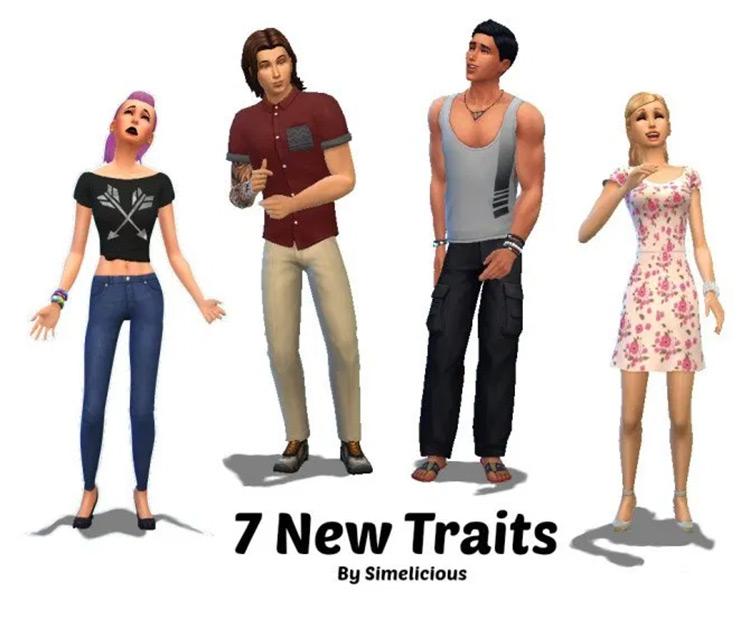 Teen Pack traits mod