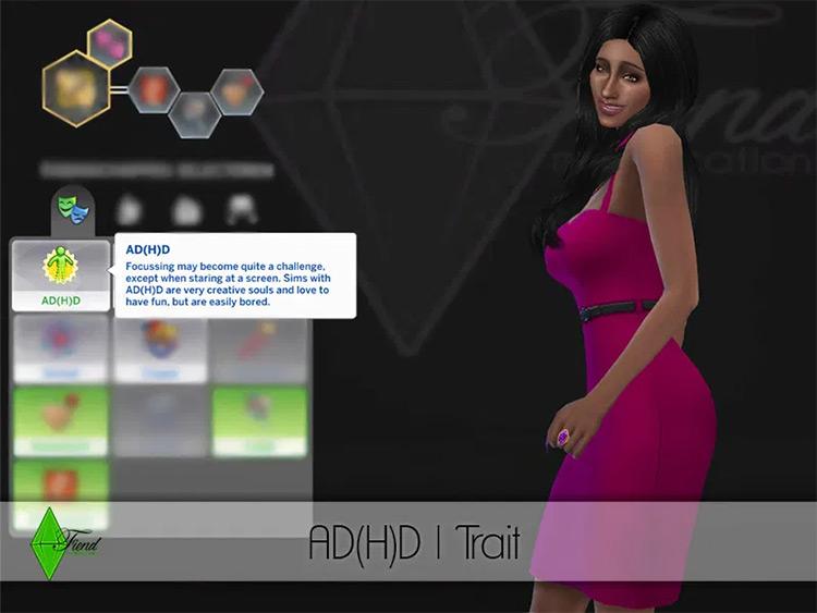 ADHD Sims4 mod