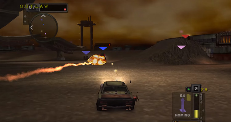 Twisted Metal: Black on PS2