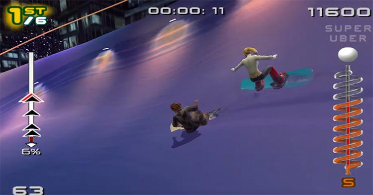 SSX 3 PS2 screenshot