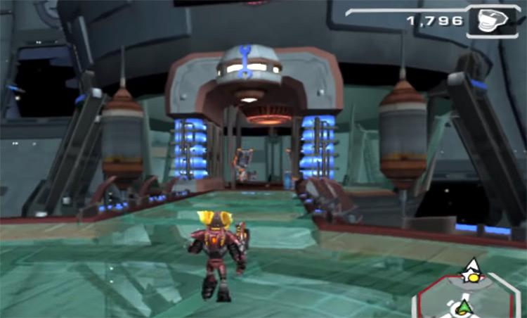 Ratchet: Deadlocked PS2 screenshot