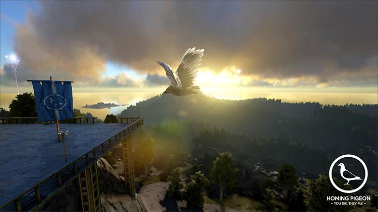 Homing Pigeon mod