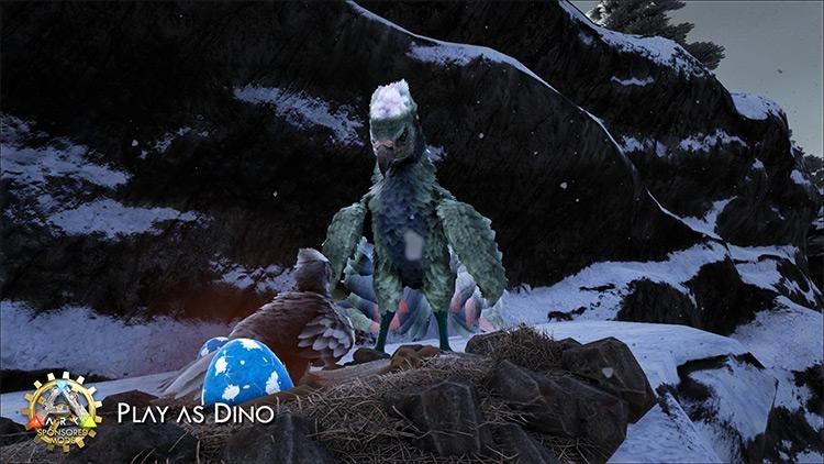 Play as Dino mod