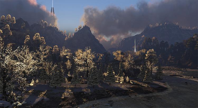 ISO Crystal Isles mod