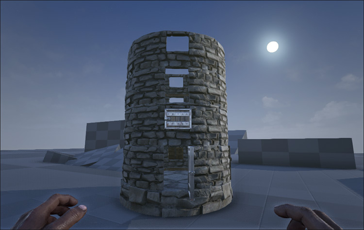 Stairs Mod with Rounded Walls mod