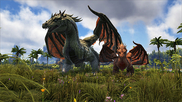 Ancient Dragons and Wyverns mod