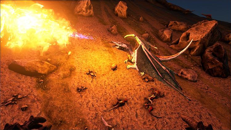 Small Dragons Ark mod