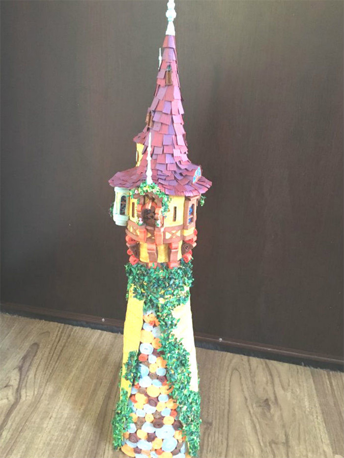 Quilling tangled diy