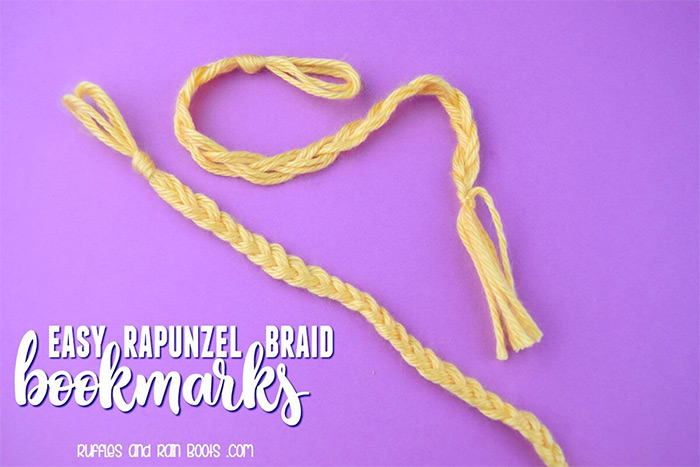 diy braid bookmark