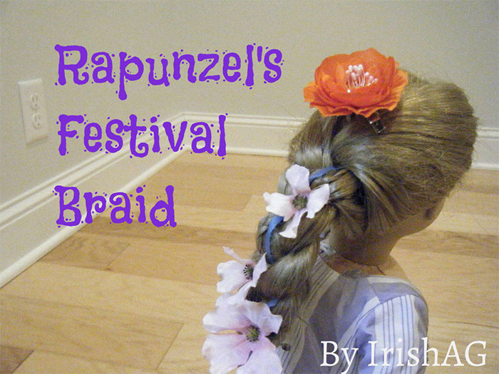 Rapunzel festival braid diy