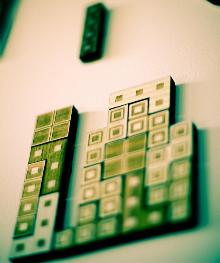 tetris magnet diy
