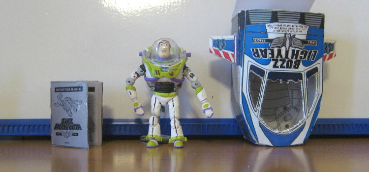Buzz Lightyear toy craft