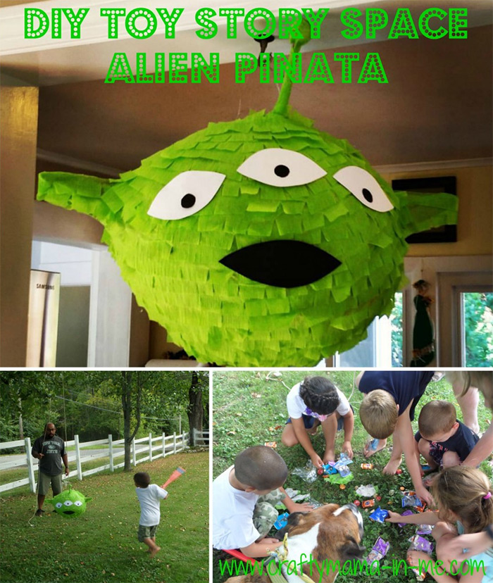 space alien toystory pinata
