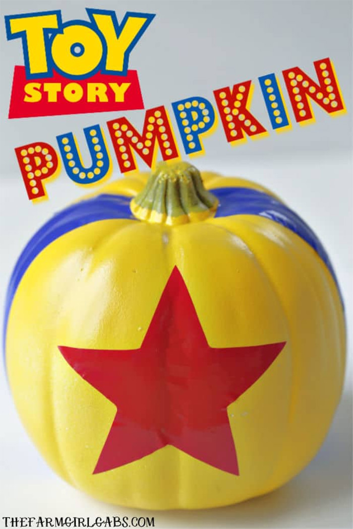 diy toystory pumpkin carving