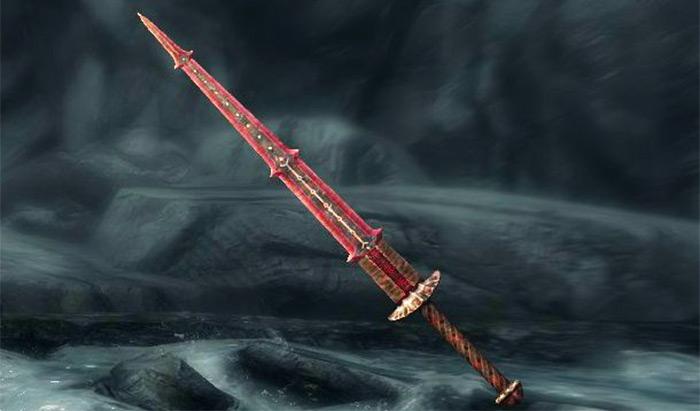 Bloodskal greatsword blade