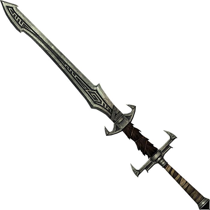 Nordic great sword Skyrim