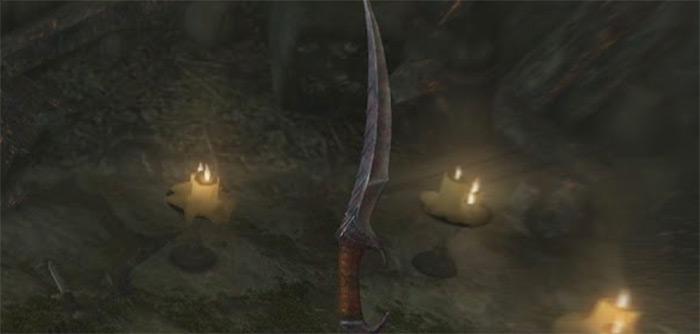 Skyrim Blade of Woe dagger