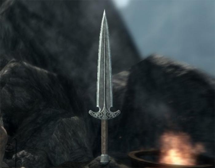 Skyforge steel dagger