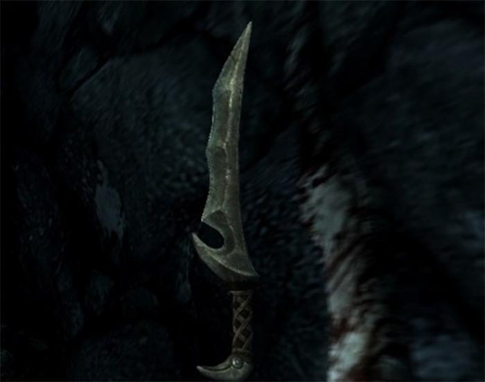 Orcish dagger skyrim