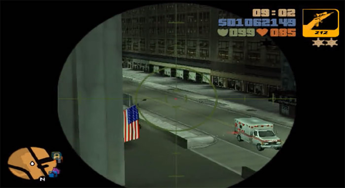 GTA 3 sniper rifle