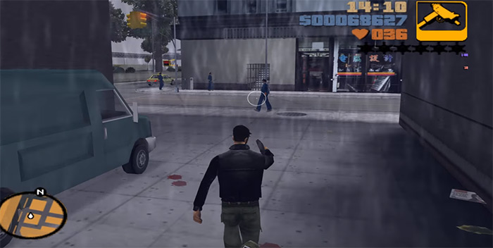GTA 3 uzi weapon