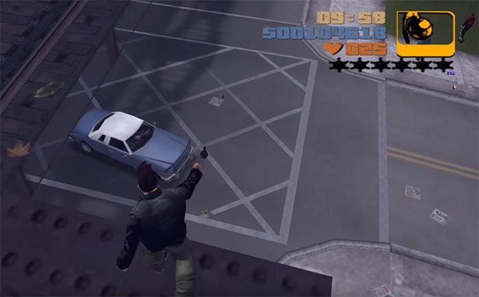 GTA 3 Grenades