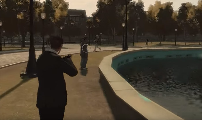 Pump Shotgun gta4