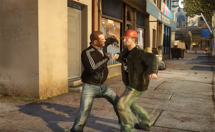 bare fists fighting gta4