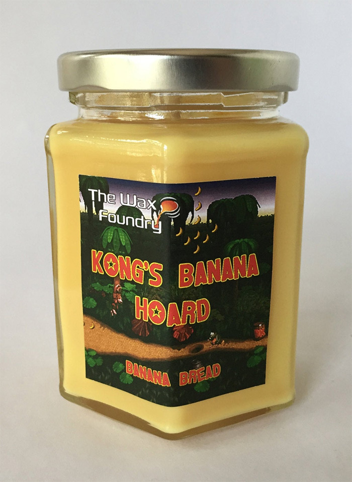 DKC banana hoard candle diy