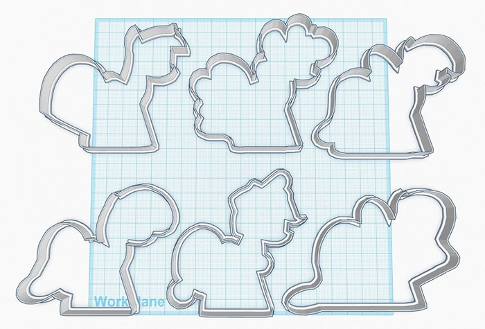 MLP cookie cutter project