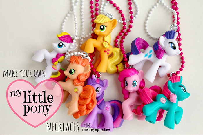 MLP necklace diy