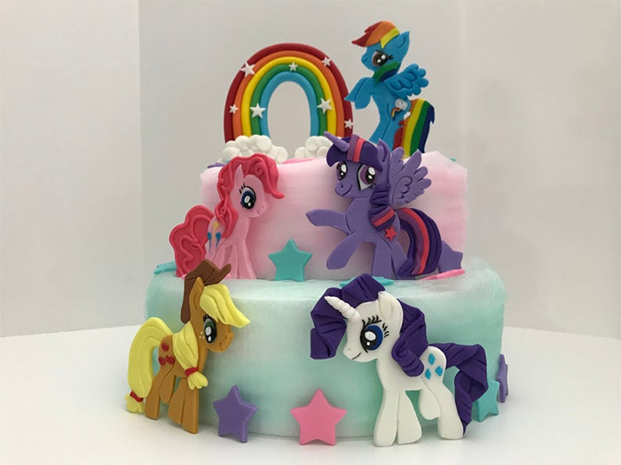Cake toppers mlp designs