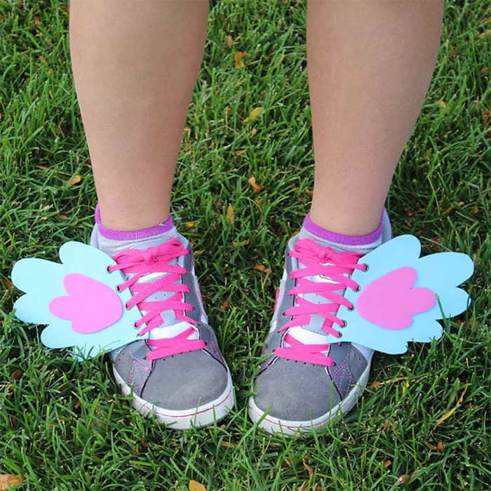 DIY mlp shoe wings