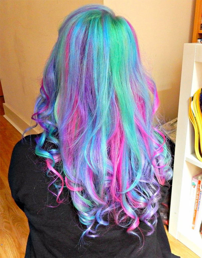 MLP unicorn hair
