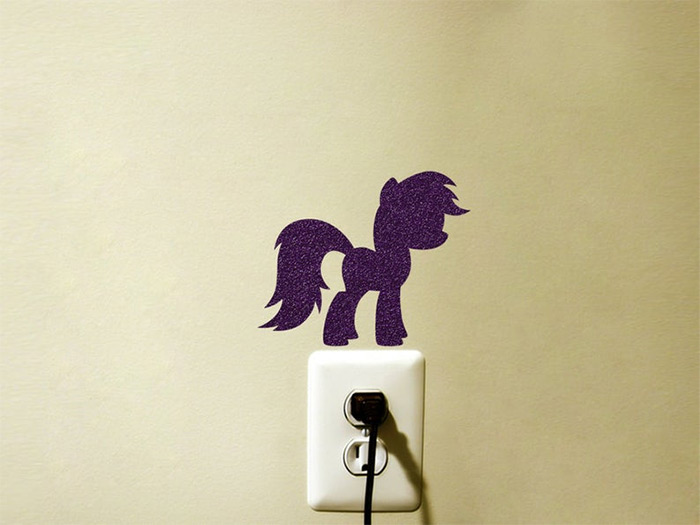 mlp velvet decal diy