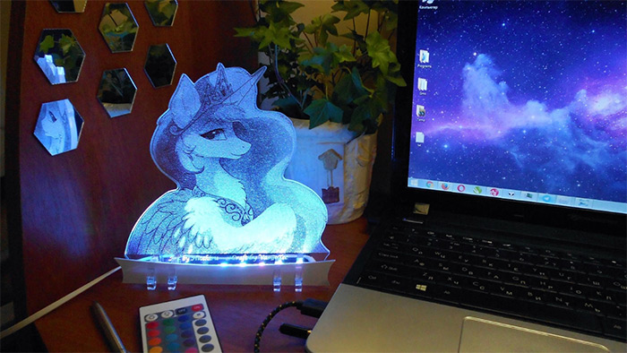 Pricess Celestia nightlight