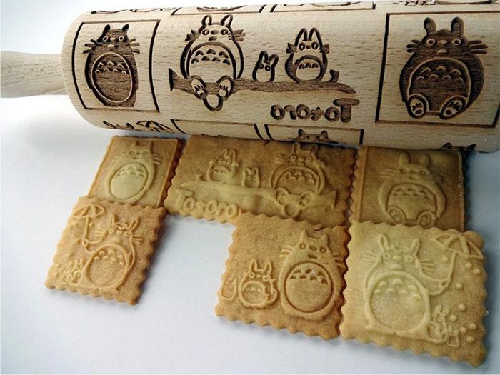 Totoro rolling pin