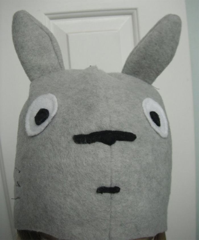 diy Totoro hat
