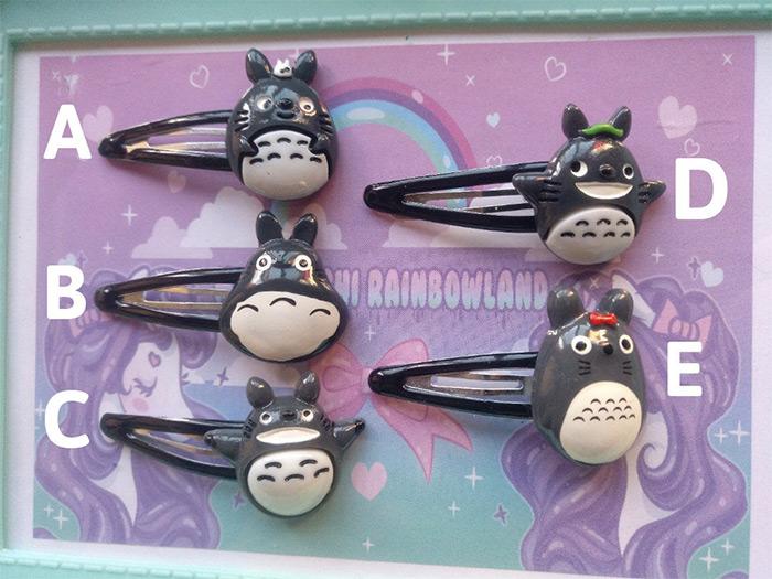 custom hairclips