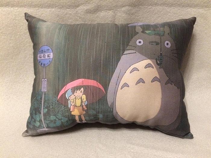 handmade pillow totoro diy