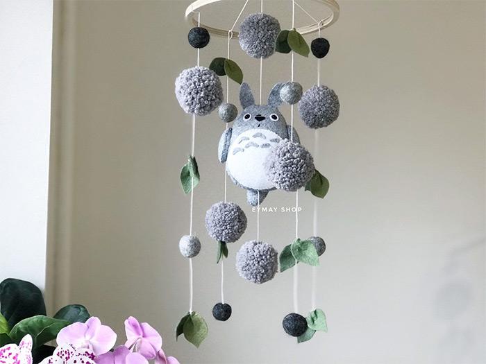 totoro nursery mobile
