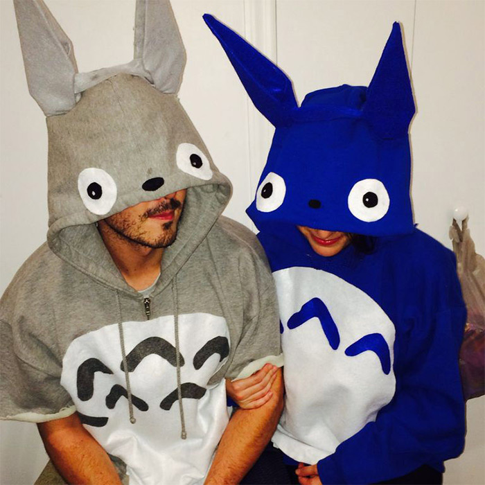 Custom Totoro costume