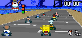 Super SpongeBob Kart rom hack screenshot