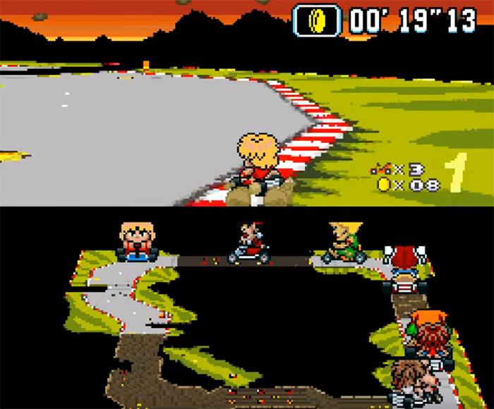 Hyper Street Kart rom screenshot