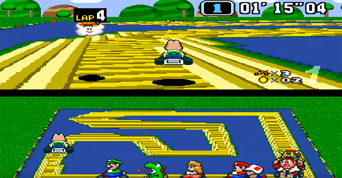Crazy Tracks screenshot romhack