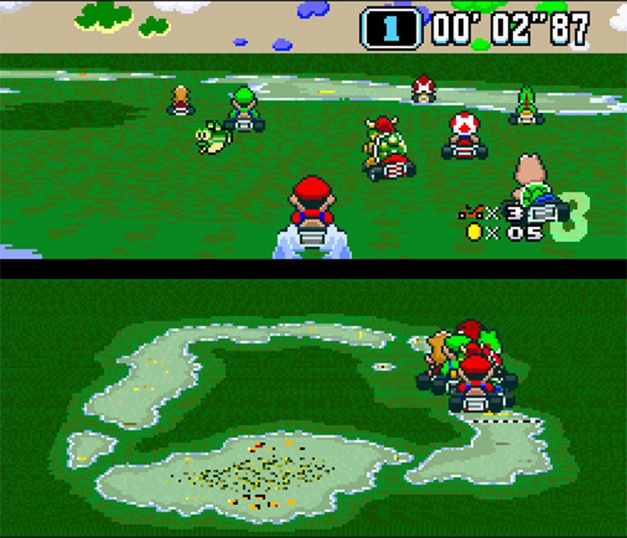 Reversed and Remixed MarioKart Rom