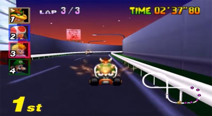 Bowser Mariokart 64