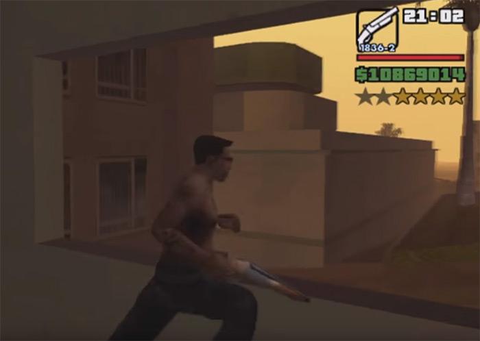 San Andreas sawed-off shotgun