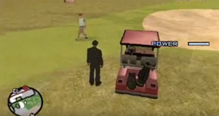 Golf Club weapon in San Andreas