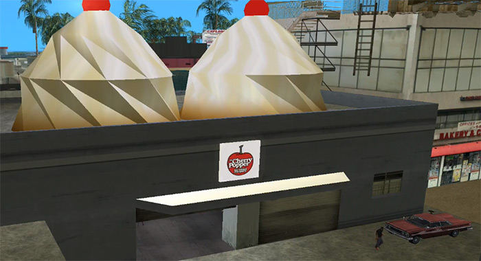Cherry Poppers Ice Cream in Vice City